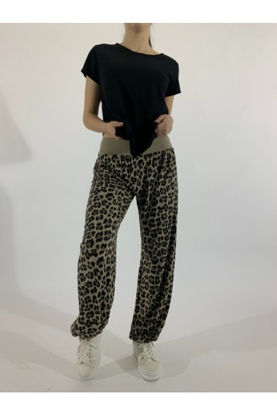 Abstract Jersey Slouchies