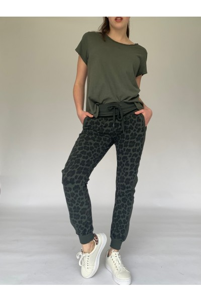 Abstract Joggers