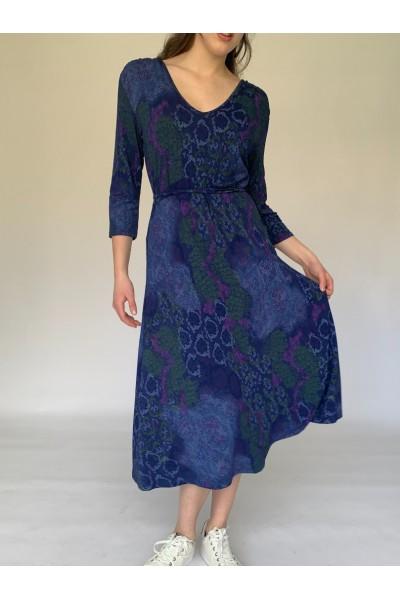 Blue Easy Day Dress