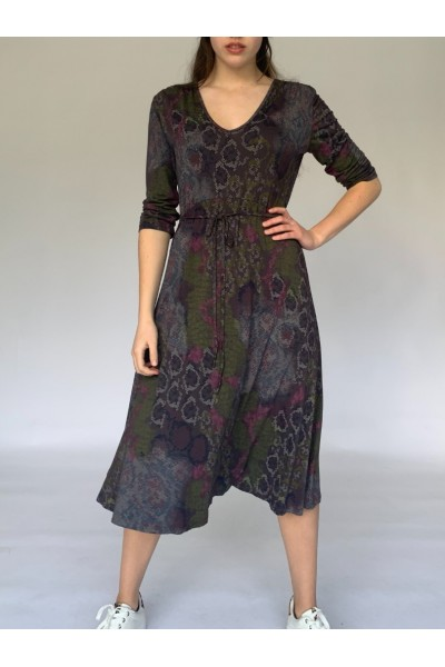 Brown Easy Day Dress