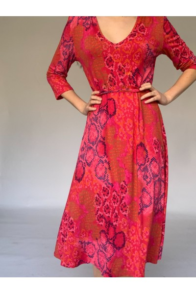 Red Easy Day Dress