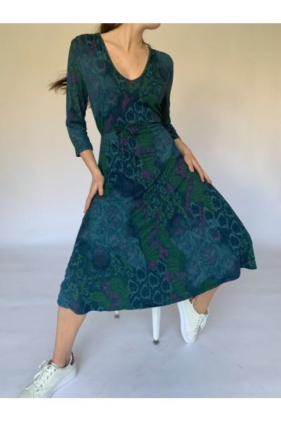 Green Easy Day Dress