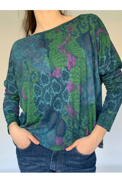 Green Reptile Easy Jersey Top