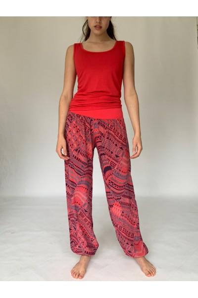 Red Aztec Slouchies