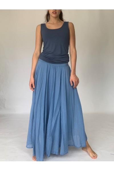 Denim Beach Skirt