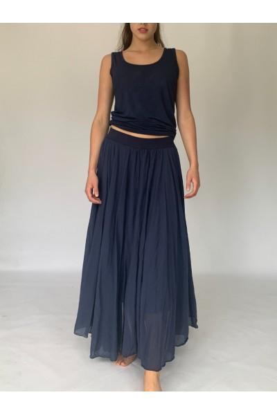 Navy Beach Skirt