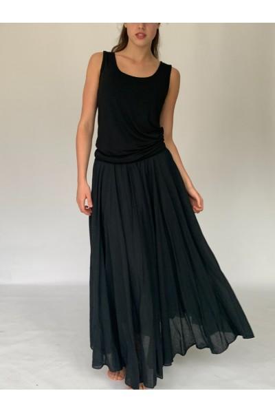 Black Beach Skirt