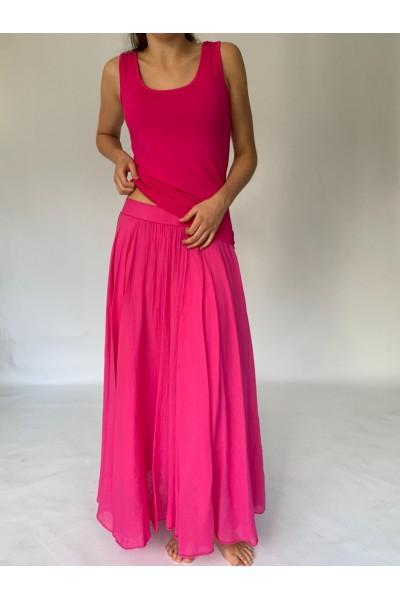 Pink Beach Skirt