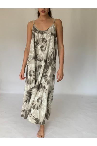 Beige Beach Dress