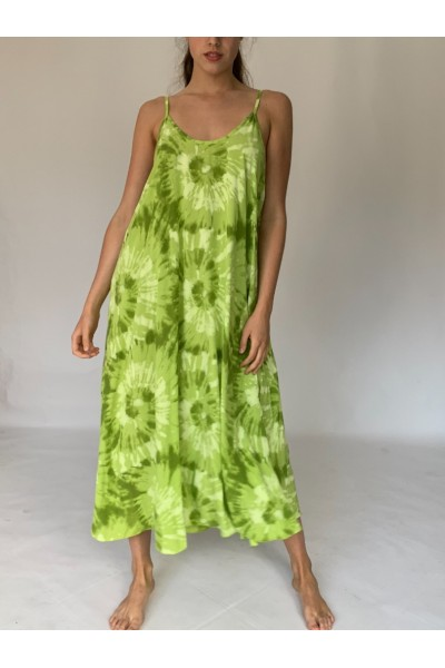 Lime Green Beach Dress