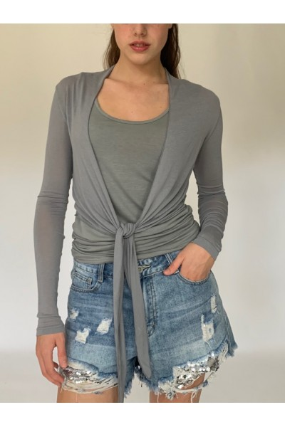 Willow Wrap - Dark Grey