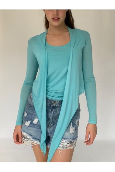Willow Wrap - Turquoise