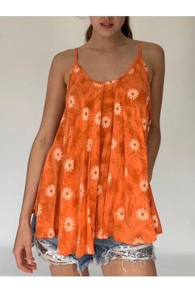 Orange Daisy Cami