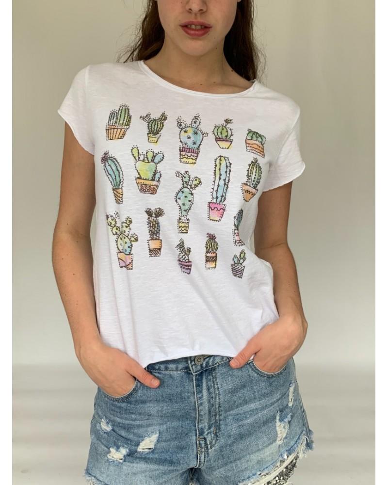 Cactus Sparkle T-Shirt