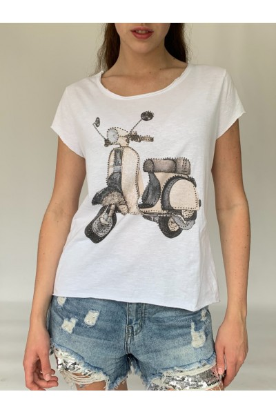 Scooter Sparkle T-Shirt