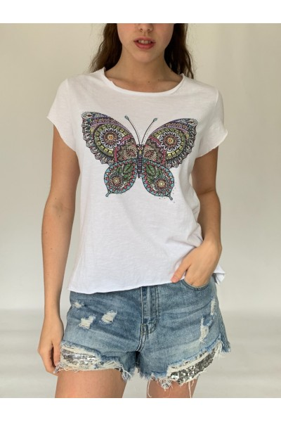 Butterfly Sparkle T-Shirt
