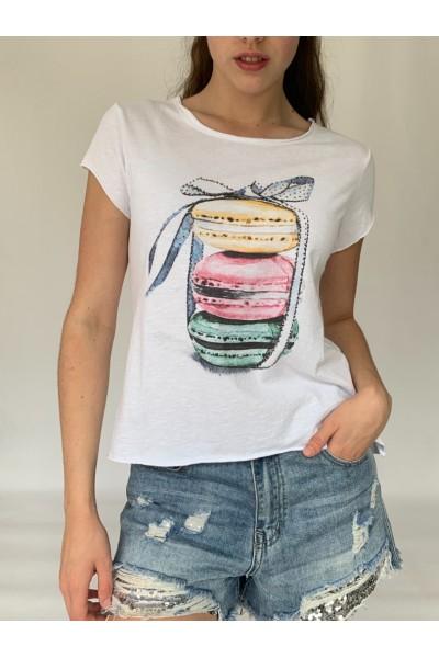 Macaron Sparkle T-Shirt