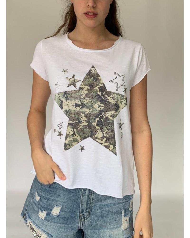 Military Star Sparkle T-Shirt