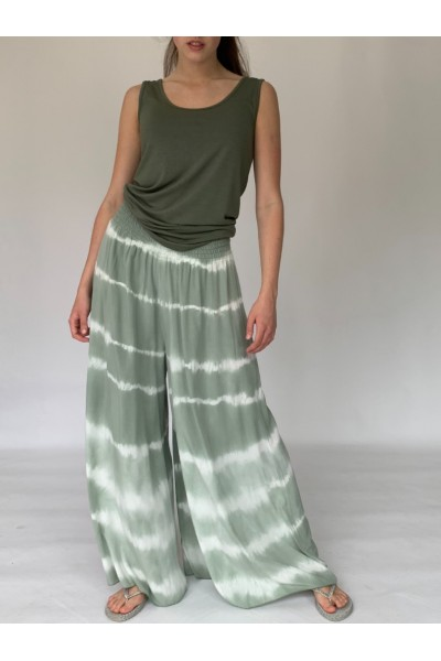 Military Tie Dye Culottes