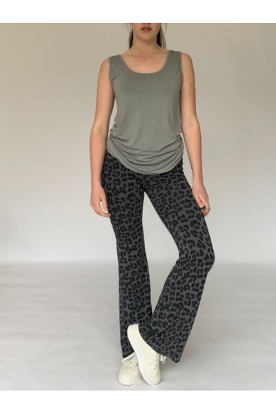 Abstract Jersey Flares